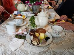 table setting food